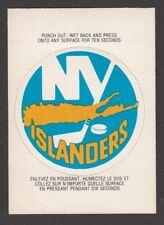 1973-74  OPC  O PEE CHEE  TEAM LOGOS  NEW YORK ISLANDERS   INV J5699