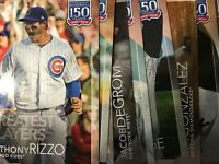 2019 TOPPS UPDATE BASEBALL 150 Years Greatest INSERT YOU PICK COMPLETE UR SET