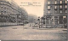 CPA 75 - PARIS - Rue Saint-Lazare et Hôtel Terminus