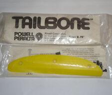 "POWELL PERALTA 8.75"" Skateboard Tail Bone. Yellow - Original 80s Old School"