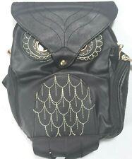 Very Cool Steam Punk Owl Backpack Cartoon Softback School Bags