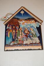 Jim Shore Nativity Plaque Wall Decor 4015692 New