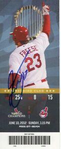 Joe Kelly Signed Autographed Ticket Stub MLB Debut 06-23-2012 JSA KK56506
