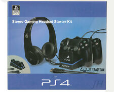 4 gamers Official Stereo Gaming auriculares Starter Kit ps4 PlayStation 4 sleh - 00269