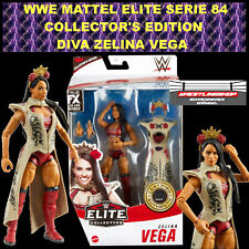 WWE MATTEL ELITE 84 DIVA ZELINA VEGA WRESTLING ACTION FIGUR RAW COLLECTOR EDITIO