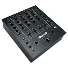Numark M6 USB Black Professional 4-Channel Scratch DJ Mixer + 2x Mic Input + EQ