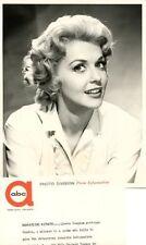 YOUNG DONNA DOUGLAS PORTRAIT DETECTIVES 1960 ABC PHOTO