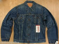 "LVC Levi's 1975 557 Trucker Jacket  ""Frank""  XL Made In USA Levis Vintage Collec"