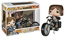 "THE WALKING DEAD DARYL DE DIXON CHOOPER 3.75"" POP RIDES FIGURA VINILO FUNKO 08"