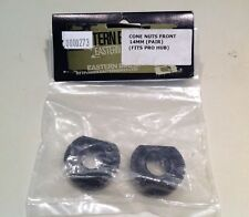 Eastern Bikes front cone nuts with locking screw 14mm (pair)