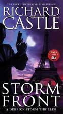 Storm Front by Richard Castle (Derrick Storm Thriller #1)(2014 Paperback) 9X-163