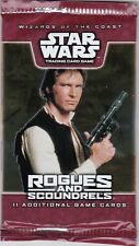 Star Wars Rogues and Scoundrels CCG 11 card Booster Pack WOTC