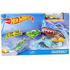 NIP Hot Wheels Sharkbait Play Set, Stop the Attacking Shark, NEW
