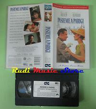 VHS film INSIEME A PARIGI William Holden Audrey Hepburn CIC PVS 70672(F86)no dvd