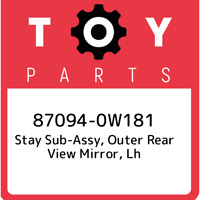 Genuine Toyota 87818-48010 Rear View Mirror Stay Holder Cover