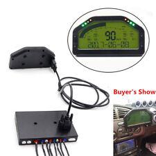 Dash Race Display Gauge SENSOR KIT Dashboard LCD Screen RPM- 9000rpm Rally Gauge