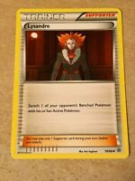 Lysandre 78/98 Pokemon Xy Ancient Origins Card NM Uncommon Trainer