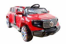 2x 12V Zweisitzer KINDERAUTO ELEKTROAUTO SUV JEEP 2 MOTOREN Geländewagen JEEP N