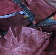Leather Scraps 150g Bag in various size pieces and colours
