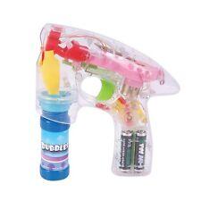 24 CASE PACK of Light Up LED Bubble Guns Bulk Wholesale Party Favor Toys