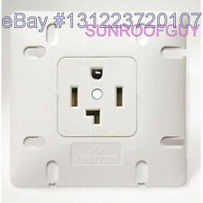 Leviton Dryer Outlet/Receptacle 30A-125/250V 14-30R - NEW (742-1278-W30)