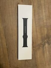 Black Apple Watch Sports Band (44mm) - Genuine Apple Authentic - NEW IN OPEN BOX