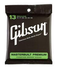 Super Gibson Saiten Masterbuilt Premium Phosphor Bronze medium .013 - .056