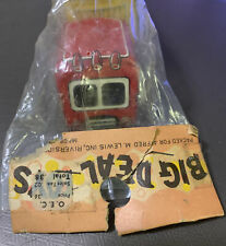 NOS Vintage Trade Mark Japan Tin Friction Toy Truck & Trailer Big Deal Toys Wow!