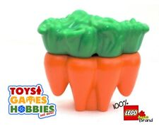 *NEW* LEGO DUPLO Carrots Piece - Food Supermarket Garden Farm Animals plant
