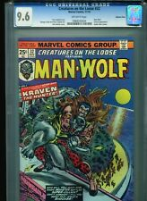 Creatures on the Loose #32 CGC 9.6 (1974) Man-Wolf Kraven Only 5 Higher @ 9.8