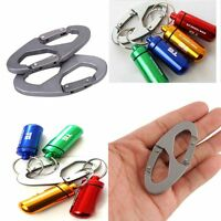 Hook Scouts Bottle Aluminum Keychain Hiking Carabiner Clip