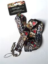 Ed Hardy Genuine /'LOVELY KILLS SLOWLY/' Tattoo Lanyard Neck Strap Cell Phone Keys