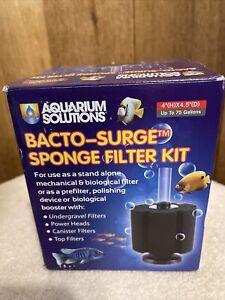 Bacto-Surge Aquarium Foam Sponge Filter Kit - By Hikari Aquarium Solutions