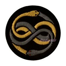 The NeverEnding Story Auryn Snakes Logo Embroidered Patch Falkor Bastian Atreyu