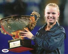 Caroline Wozniacki Denmark Tennis Signed Auto 8x10 PHOTO PSA/DNA COA