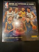 2020-21 Panini Basketball Sticker and Card Collection. SEALED BOX (50 Packs)