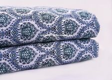 Indian Floral Print Dressmaking Apparel Cotton Fabric Craft Sewing By 2.5 Yard