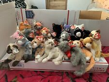 Ty Beanie Babies Cats With Freckles the Spotted Leopard Plush Toy And More
