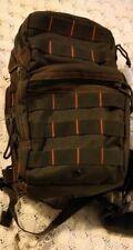 Kombat Mini Molle Shoulder bag 10L Bag Utility olive and red