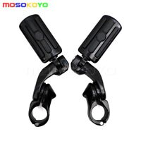 Motorcycle Highway Pegs Foot Rest Highway Mounting Peg Clamps For Harley Softail