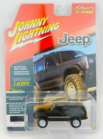 Johnny Lightning *BLACK* JEEP CHEROKEE 4x4 *2018 mc2-toys EXCLUSIVE* 1 of 2016