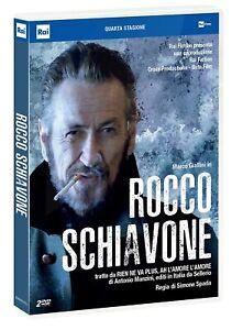 Dvd Rocco Schiavone Stag 4 (2 Dvd) ⚠️IN PRENOTAZIONE Data uscita:05-05-2021 ⚠️