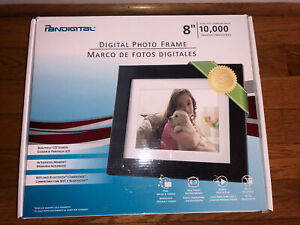 Pandigital 8-Inch LCD Digital Photo Frame 10K Images New Open Box