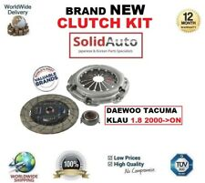 FOR DAEWOO TACUMA KLAU 1.8 2000->ON CLUTCH KIT COVER PLATE and RELEASE BEARING