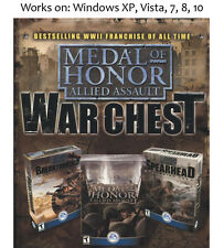 Medal of Honor Allied Assault War Chest PC Game Windows XP Vista 7 8 10 Warchest