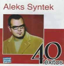 CD - Aleks Syntek NEW 40 Exitos Con 2 CD's 40 Canciones FAST SHIPPING !
