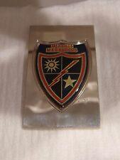 """"""" 475th Infantry Regiment U.S.A."""" Sterling Silver Emblem"""