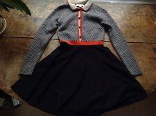 RRP£162 Caramel Baby & Child Wool Dress, 4 5 6 Years