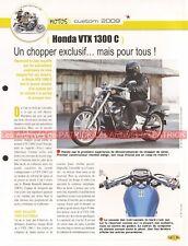 HONDA VTX 1300 C 2009 Joe Bar Team Fiche Moto #003719