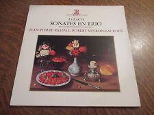 33 rpm jean-sebastien bach trio sonatas BWV 525 a 530 (for flute & claveci